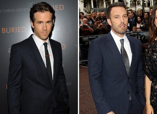 Ryan Reynolds & Ben Affleck
