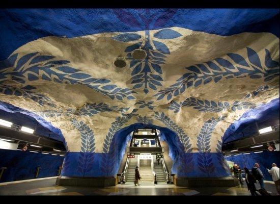 Cele mai grozave statii de metrou din lume