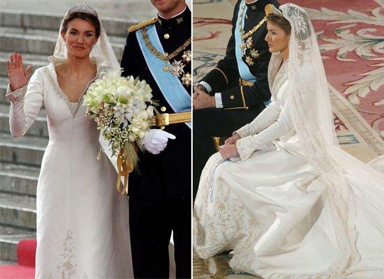 Stunning Princess Letizia Wedding Dress Images - Styles & Ideas 2018 ...