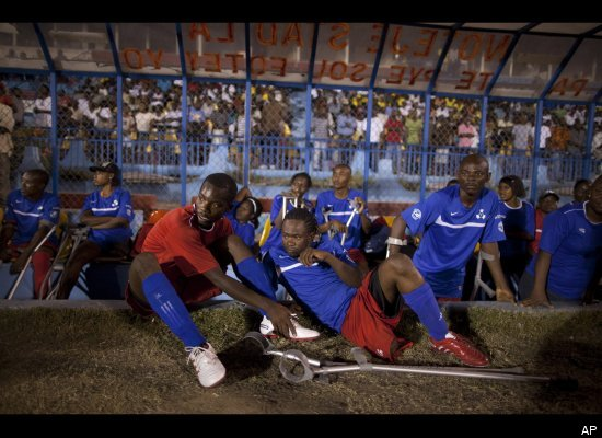 Haiti Earthquake Anniversary: Amputees Find Outlet In Soccer (PHOTOS)