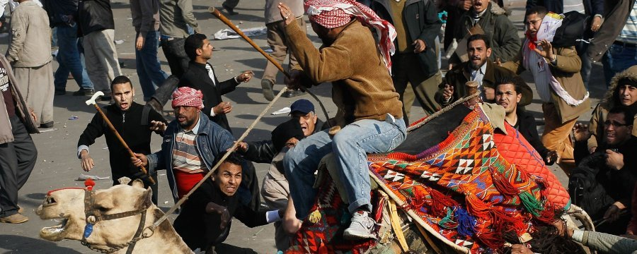 Why Did Mubarak's Thugs Ride In On Camels? slide 16786 234183 large