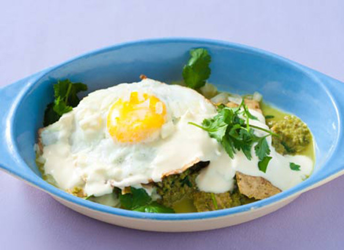 Get the Fried Egg Chilaquiles recipe