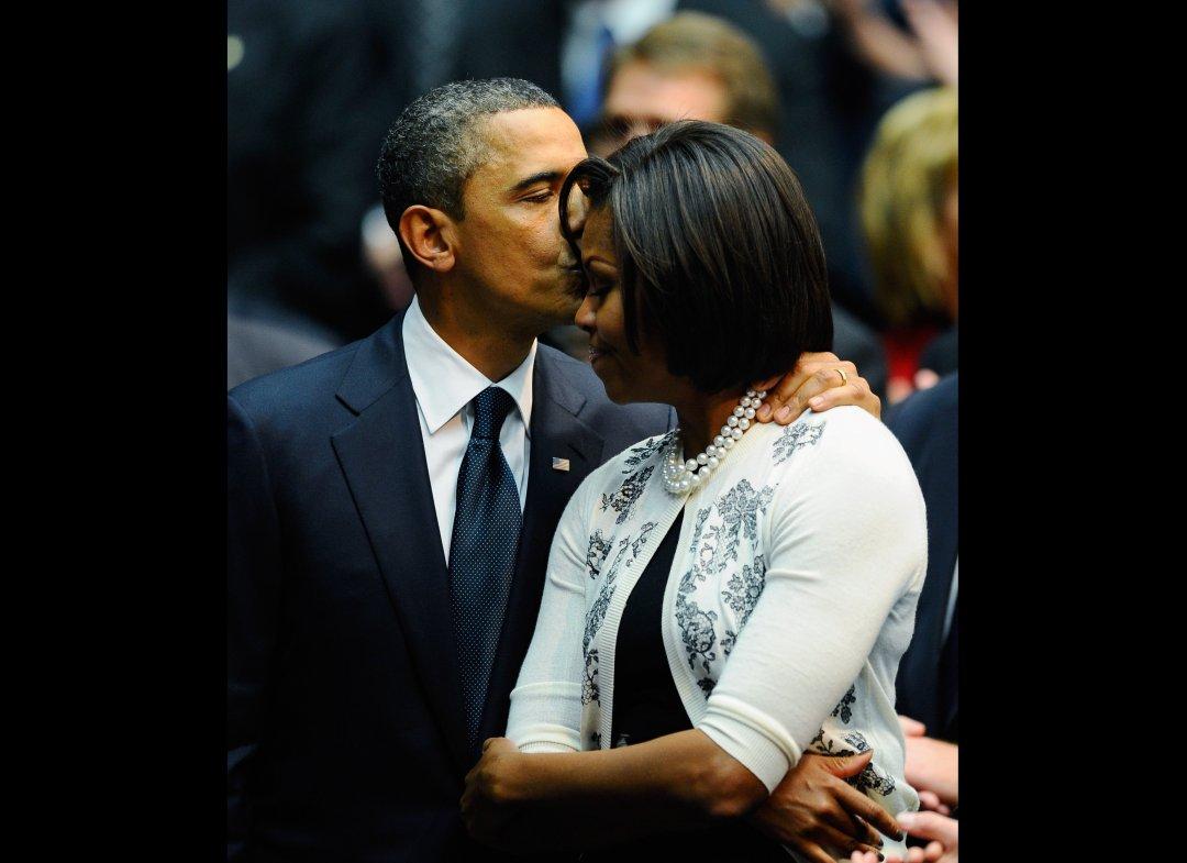 Επέτειο γάμου για τον Μπάρακ και την Μισέλ Ομπάμα...