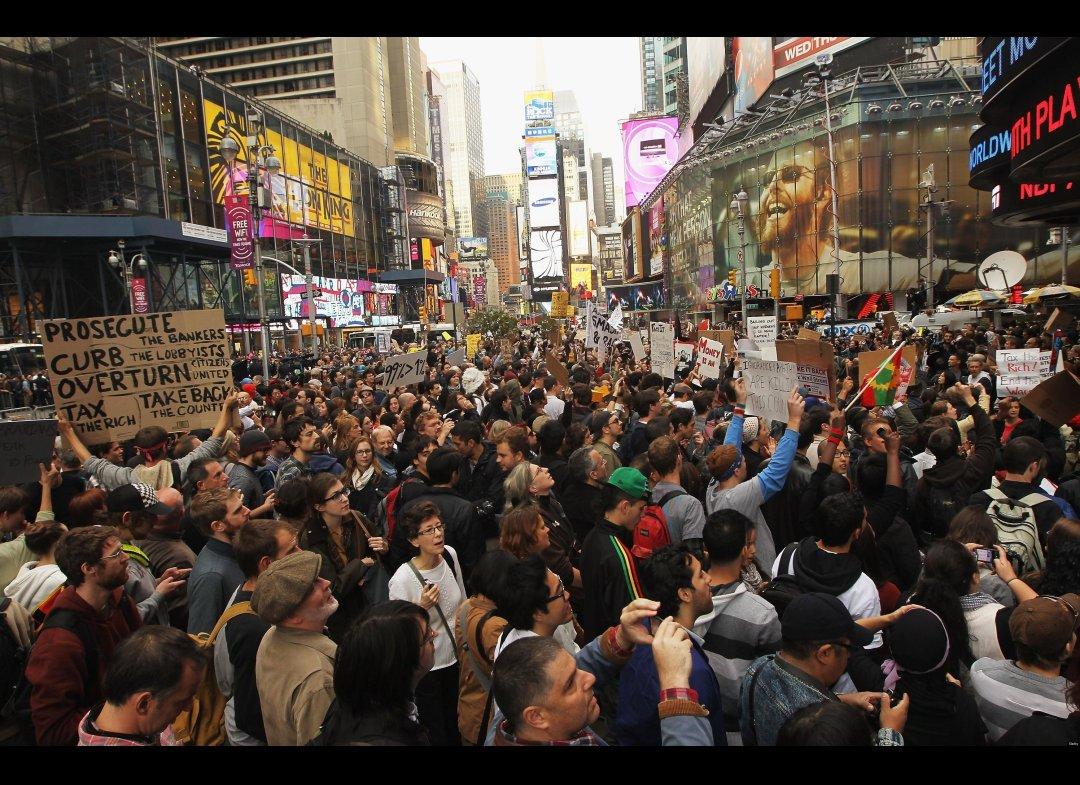 the occupy protestors essay