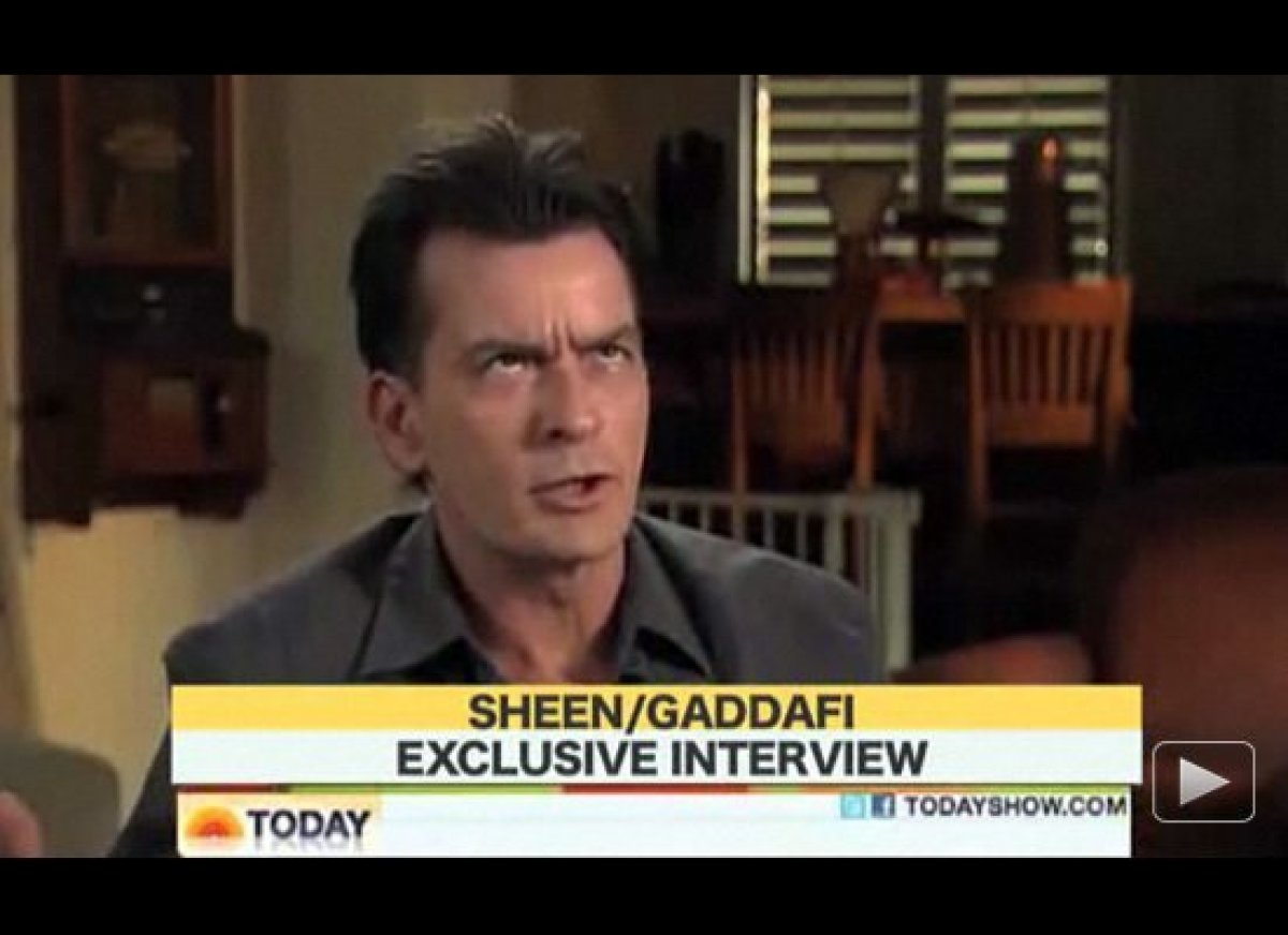 Charlie Sheen And Muammar Gaddafi Quotes Charlie Sheen And Muammar