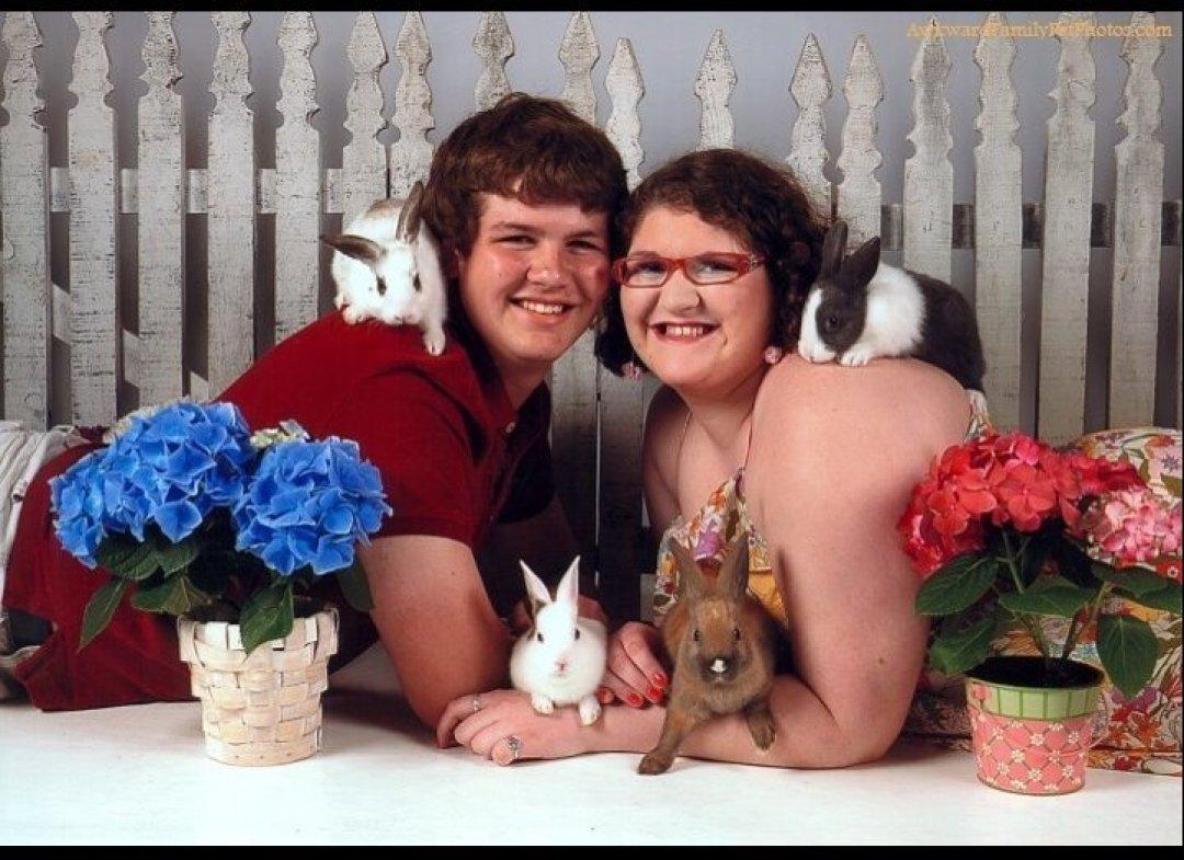 Забавные семейные фотографии с домашними животными.Первая часть была.