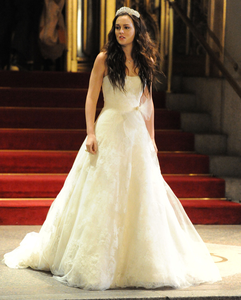 blair waldorf 39 s wedding dress more enviable fictional