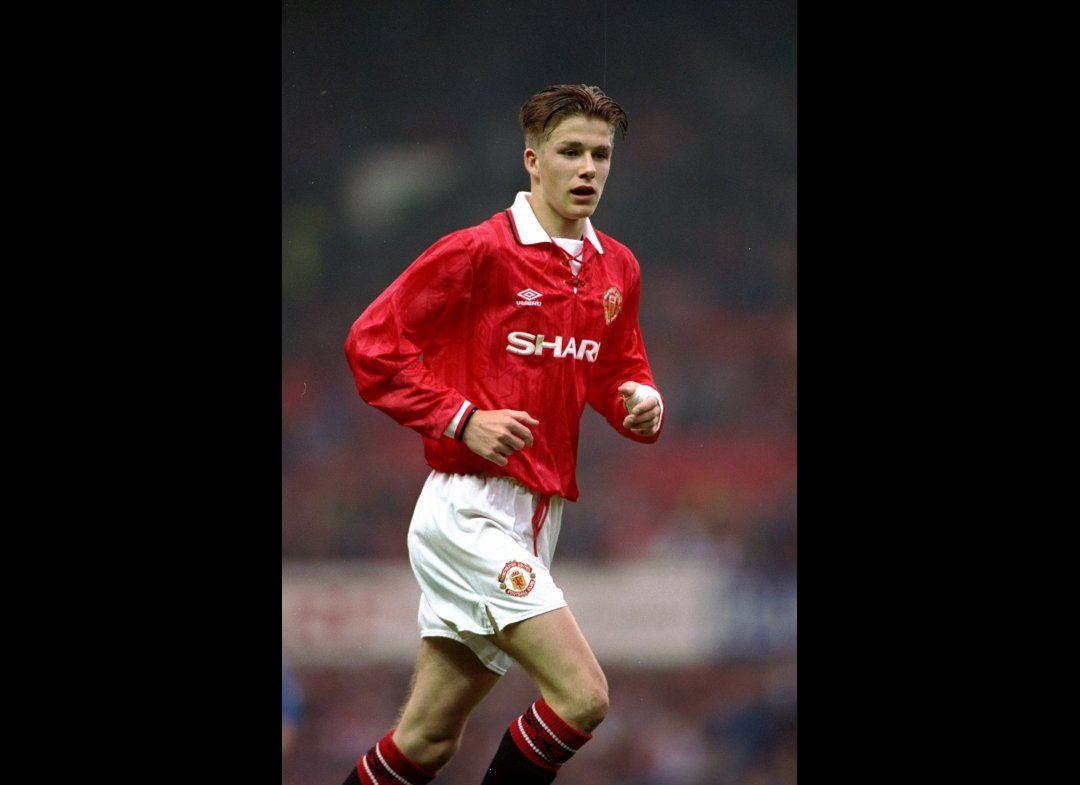 10 May 1993 David Beckham of
