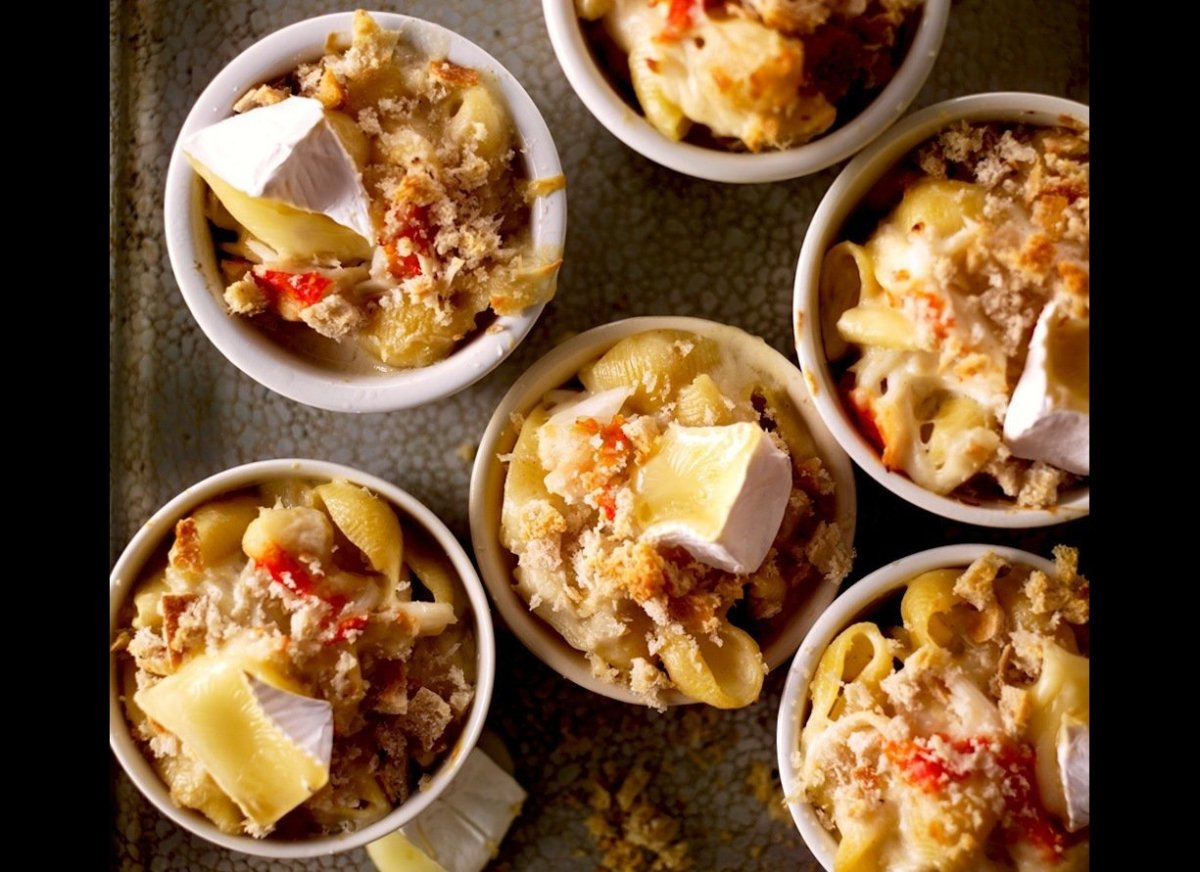 ... or any occasion recipe macaroni and brie with crab share this slide