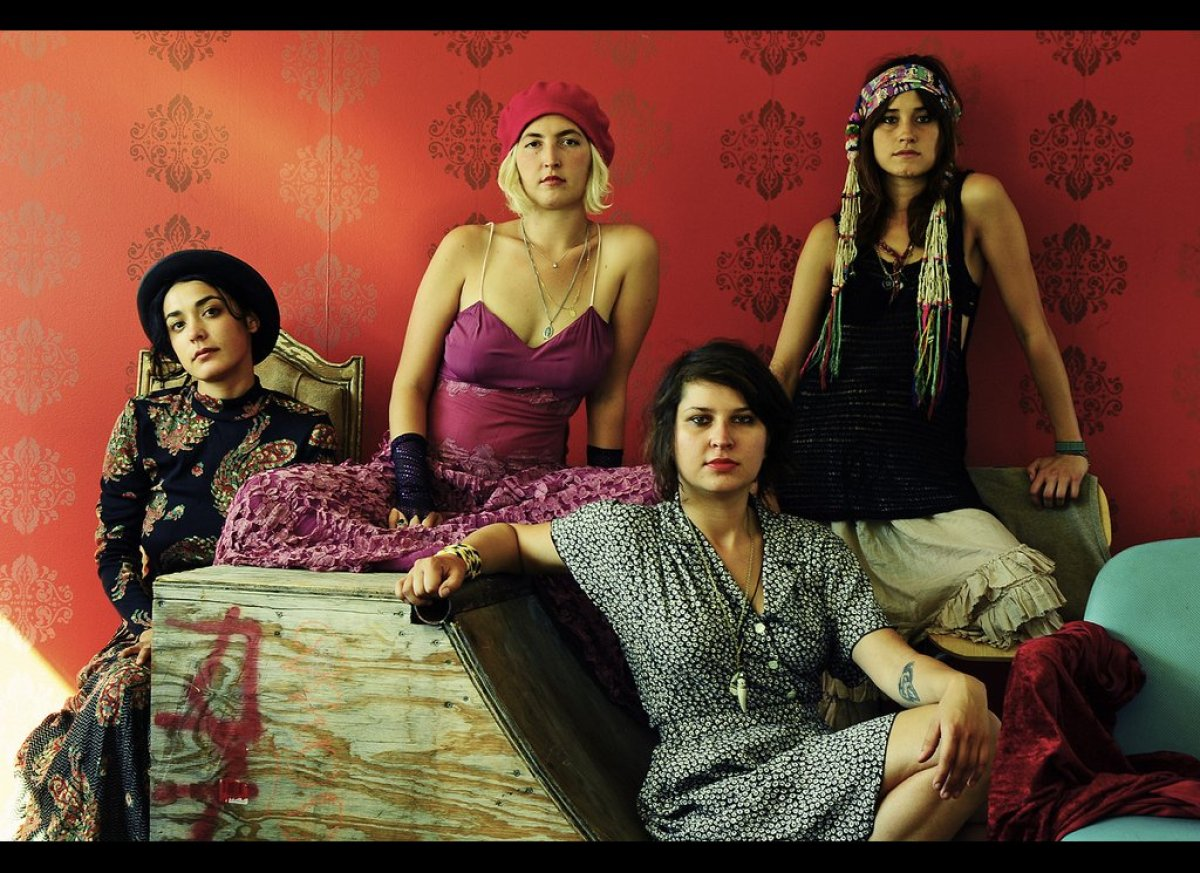 Warpaint, A Girl Band Like No Other: MY LA (VIDEO, PHOTOS ...