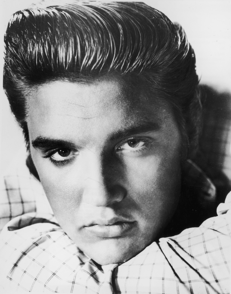 Pleasant Elvis Presley And 27 Other Celebrity Pompadours Photos The Short Hairstyles For Black Women Fulllsitofus