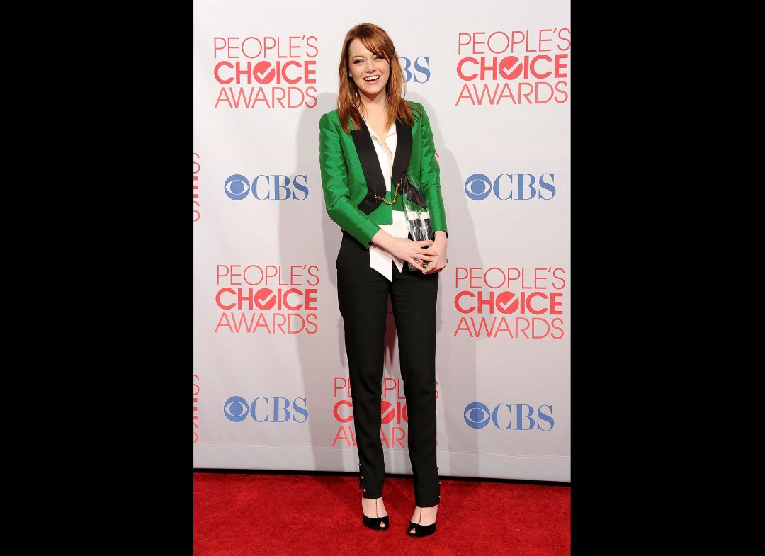 People's Choice Award 2012 Winners; Emma Stone, Neil Patrick Harris And Katy Perry Win Big