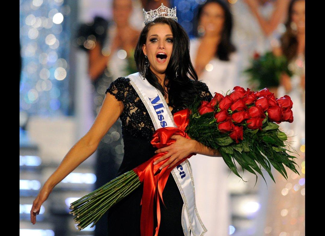 Foto Laura Kaeppeler, pemenang Miss America 2012