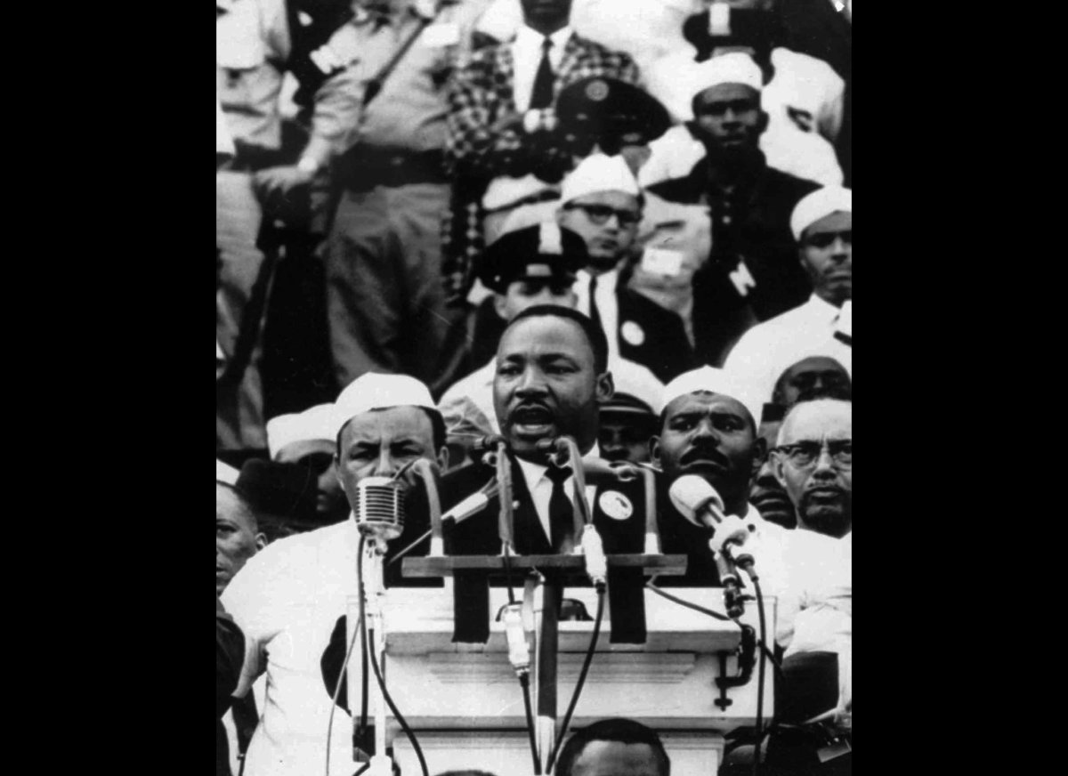"mlk i have a dream speech thesis Persuasive speech unit: martin luther king jr""s (mlk""s) ""i have a dream"" (ihad) speech will be the basis for this two-week persuasive and a thesis."