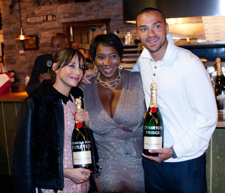 Rashida Jones And Jesse Williams Feted At Sundance Dinner