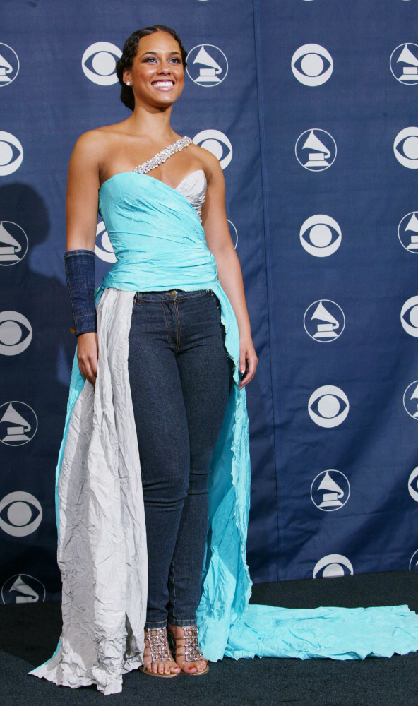 Slide Free Style Grammy Awards Alicia Keys
