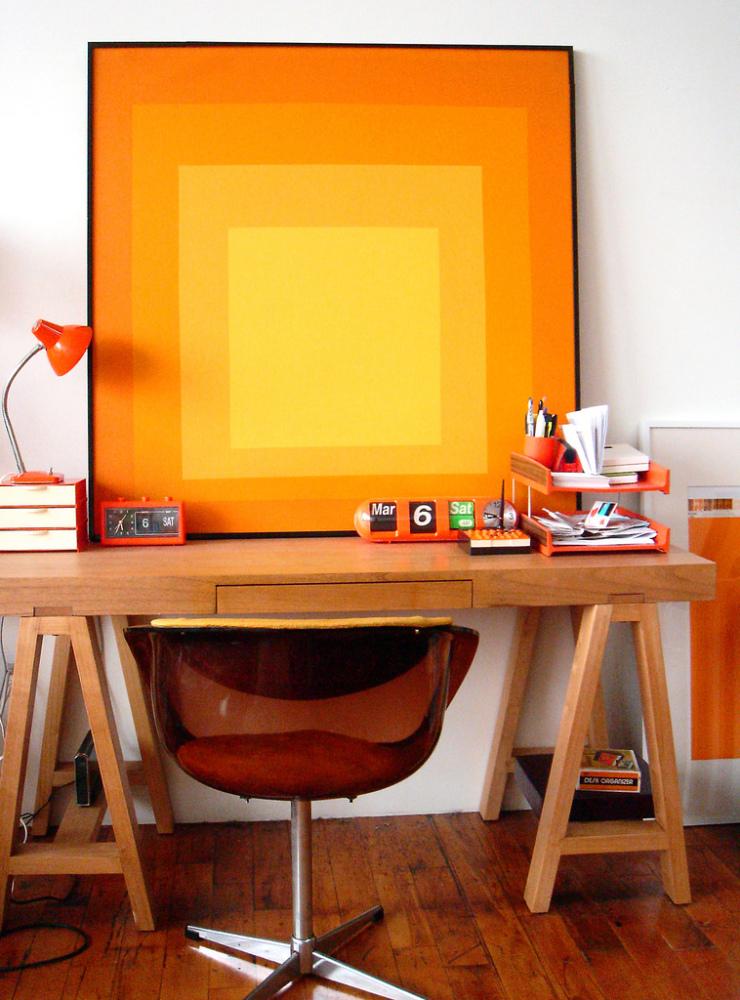 Decor Inspiration Colorful Kitchens That Work: Design Inspiration: 25 Orange Paint Ideas For Kitchen