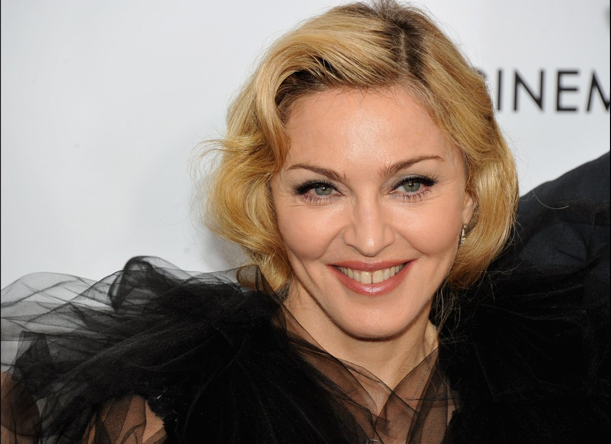 Madonna's tooth gap