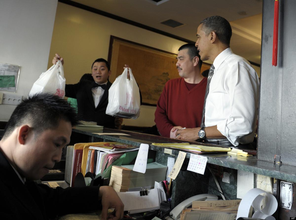 美国总统的中餐外卖