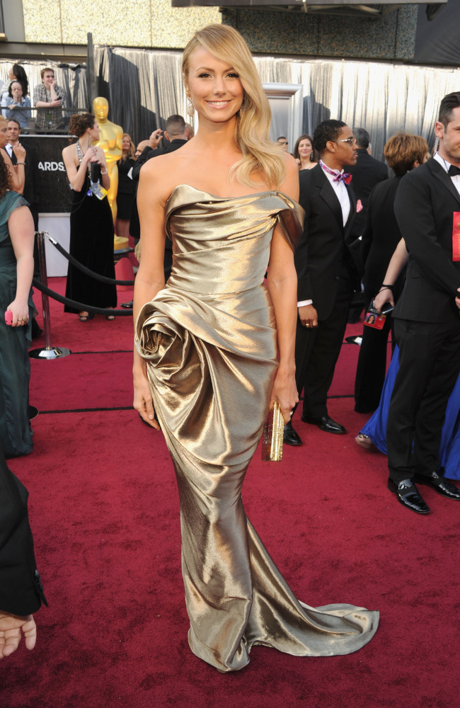 Stacey Keibler In Marchesa