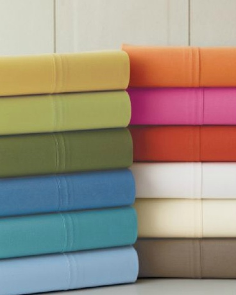 the bright colors of these sheets remind us of the vibrant hues found