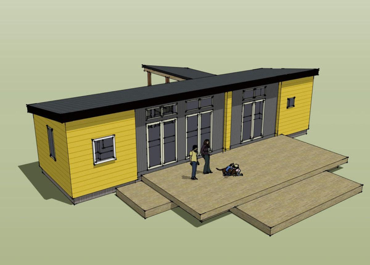 Ikea houses ikea portland and ideabox debut prefab homes at portland home and garden show - Ikea case prefabbricate ...