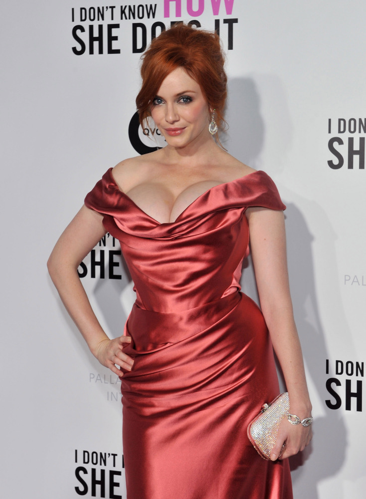 Christina Hendricks Cellphone Hacked — When Will This End