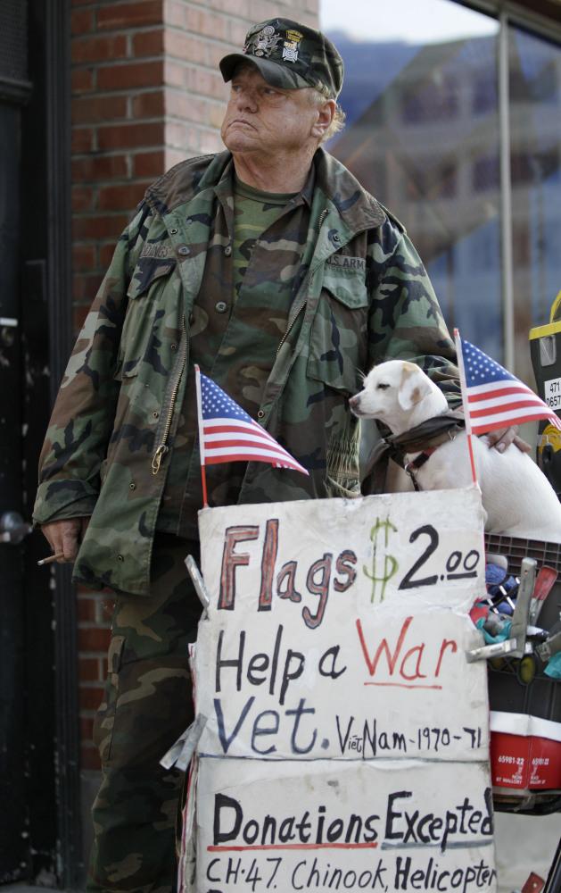 Why are so many veterans homeless?