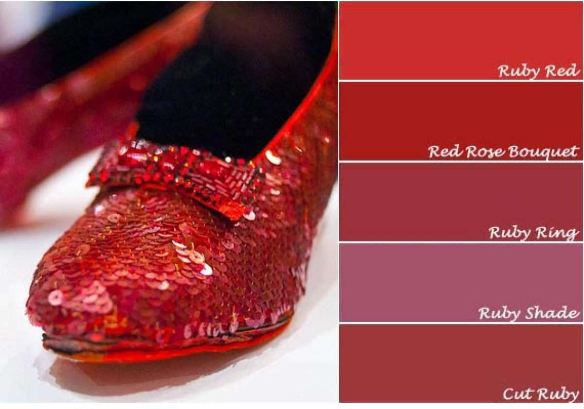Sherwin Paint Ruby Red