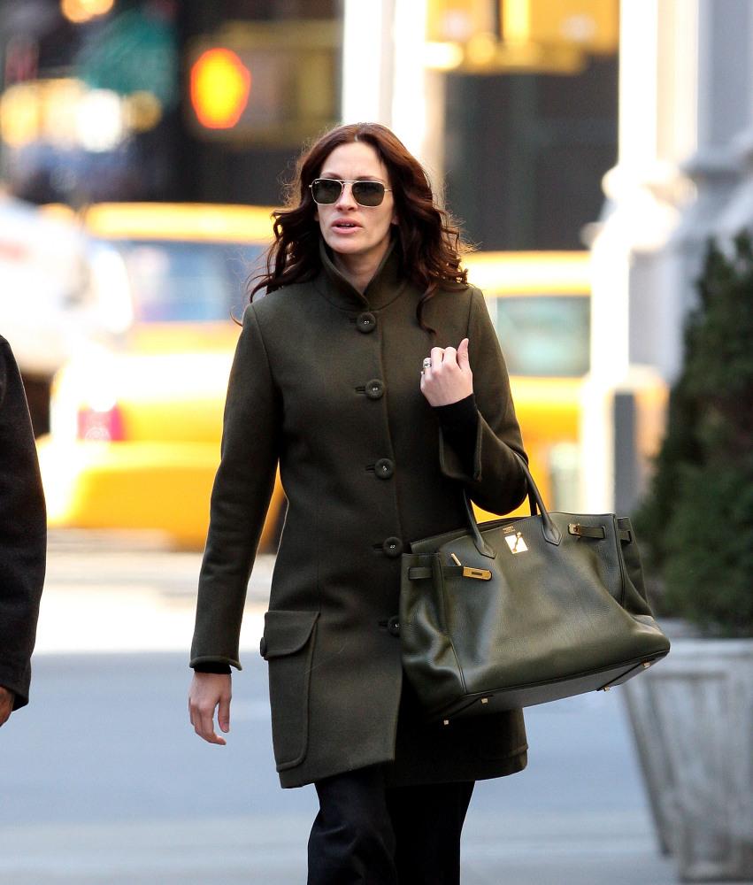 Julia Roberts - Hermes Birkin Bag