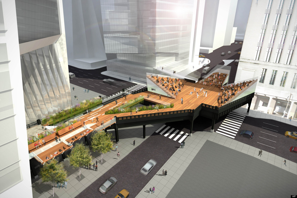 High line extension csx donates third and final section for New york city highline