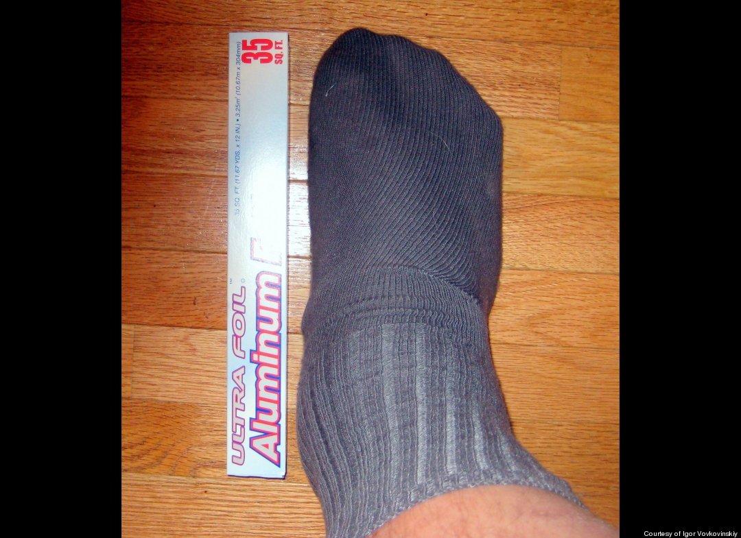 how to make a giant shoe