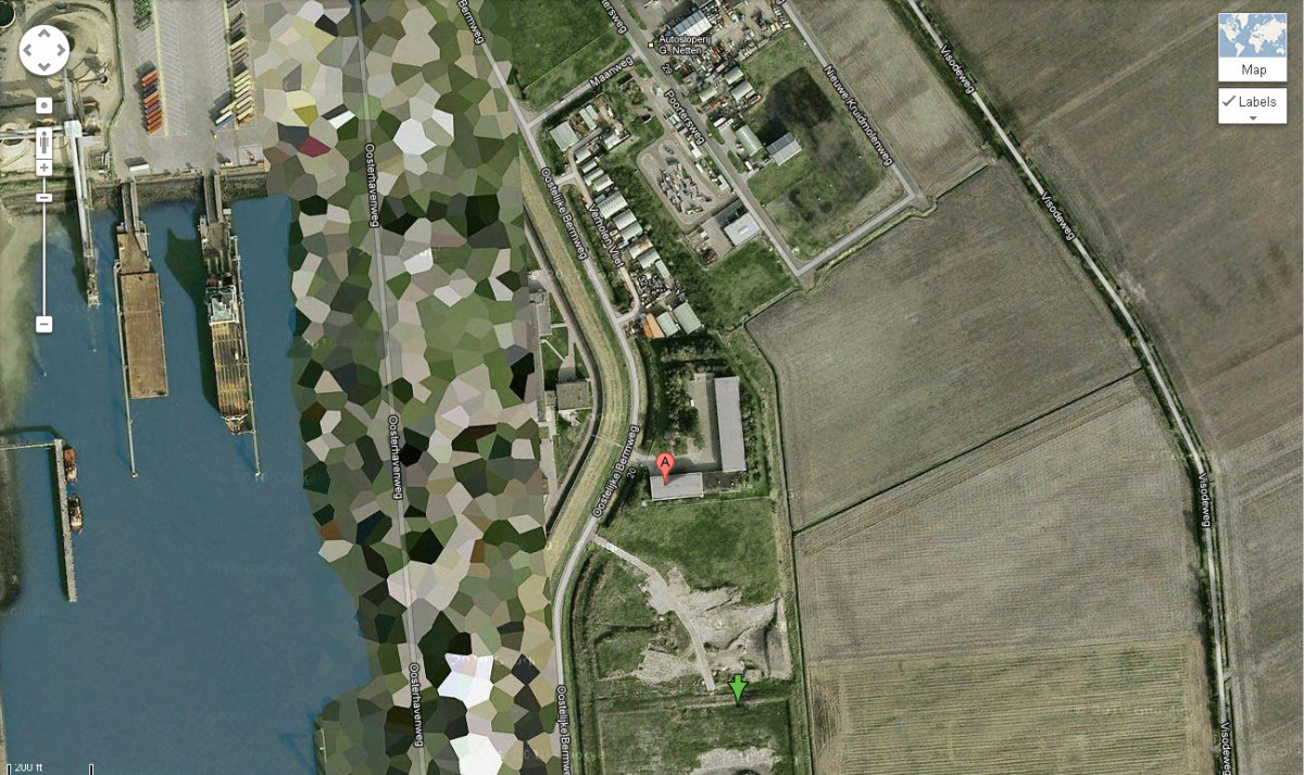 Ten Places Google Maps Wont Let You See