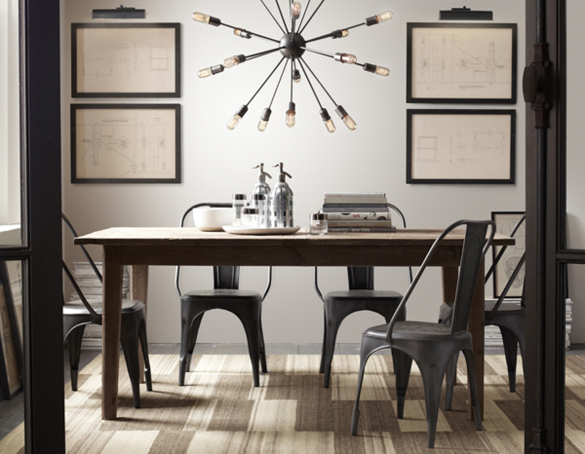 Restoration hardware 39 s gary friedman talks small spaces color and deconstructed furniture - Small spaces restoration hardware set ...