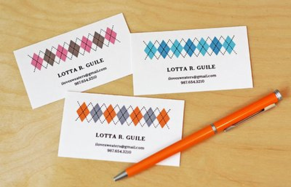 11 free printable business cards you can make at home  huffpost