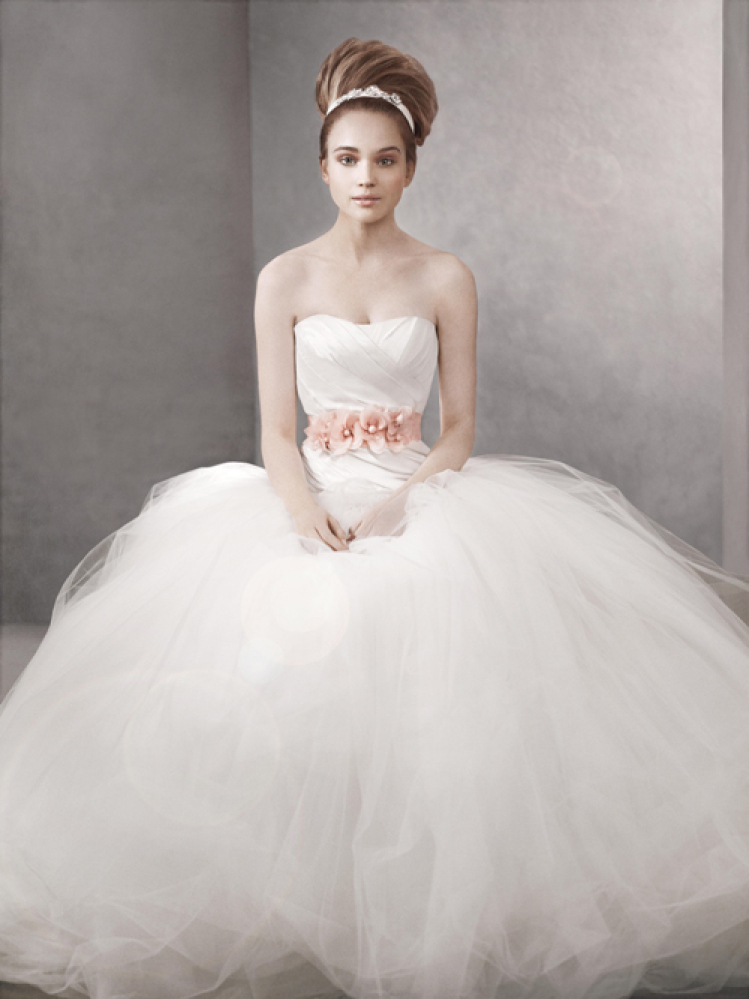 Ball Gown Wedding Dresses By Vera Wang : Vera wang david s bridal mirror style gowns