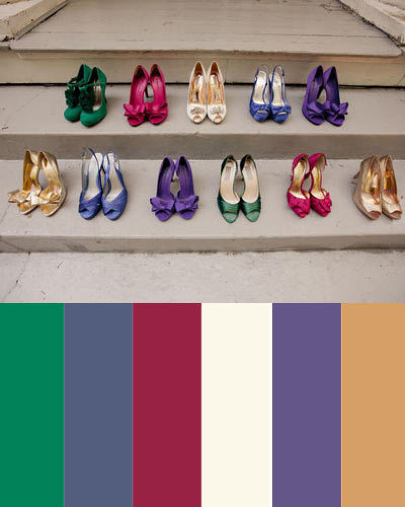 A jewel tone color palette that will make your home appear - What are jewel tones ...
