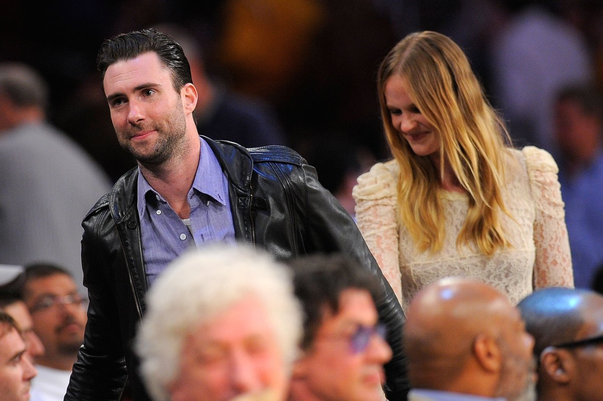 Adam levine wedding date