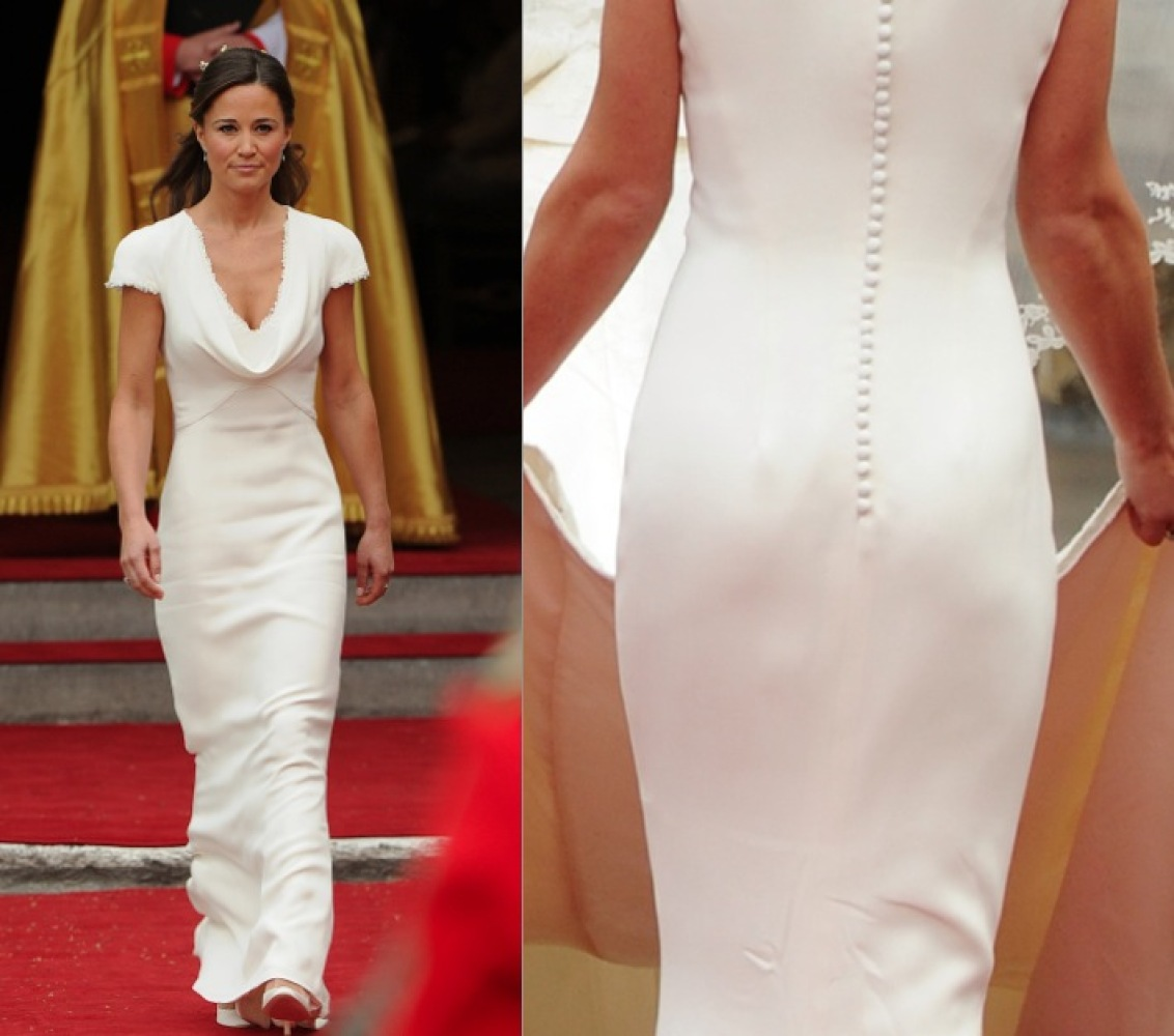 Wedding Pippa Middleton Wedding Dress pippa middleton finally addresses her hip hugging royal wedding dress