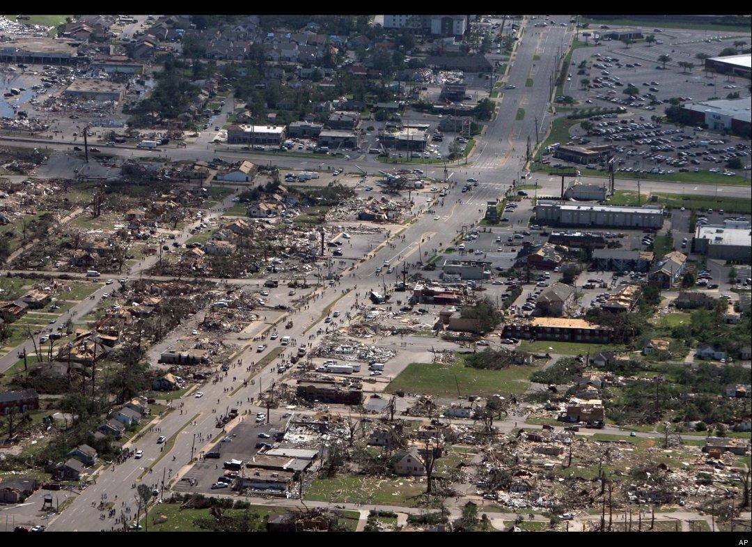 Tuscaloosa after storm
