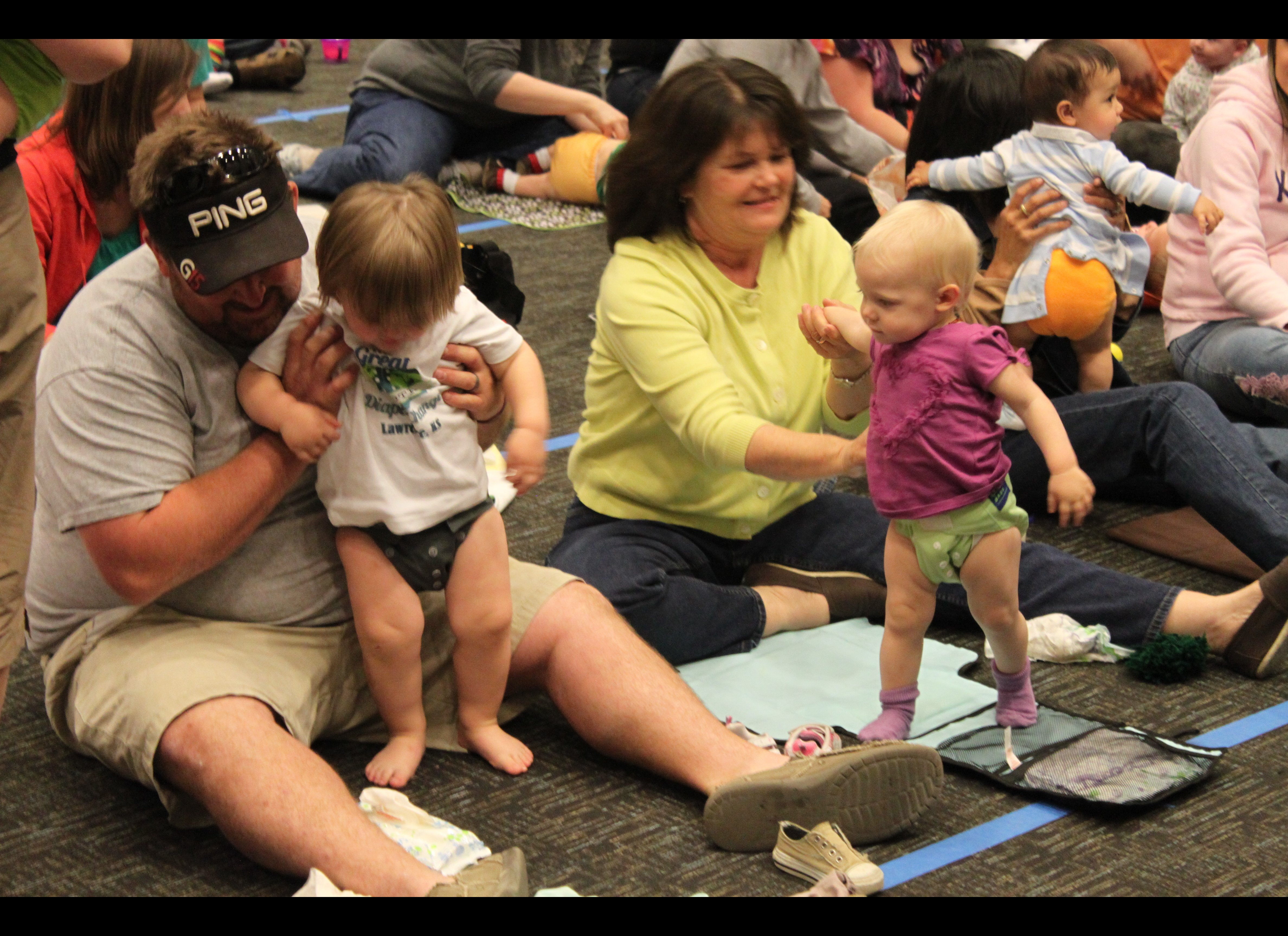 Diaper World Record Attempt: 2nd Annual Great Cloth Diaper Change ...