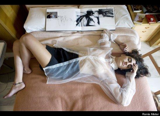 """少女们的闺房照——拉尼娅-马塔尔摄影集""""闺房里的少女"""" - die rose - die rose的博客"""