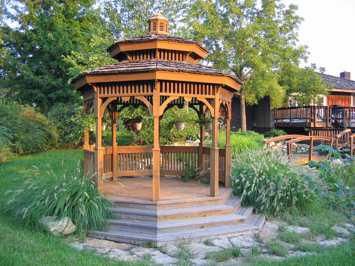 Backyard Gazebos Ideas ? 15 Photos to inspire your garden gazebo