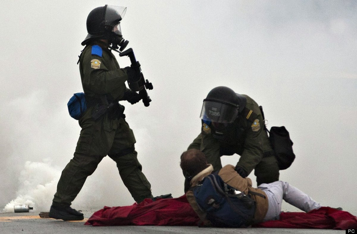 Le Printemps érable sous l'angle de la répression politique