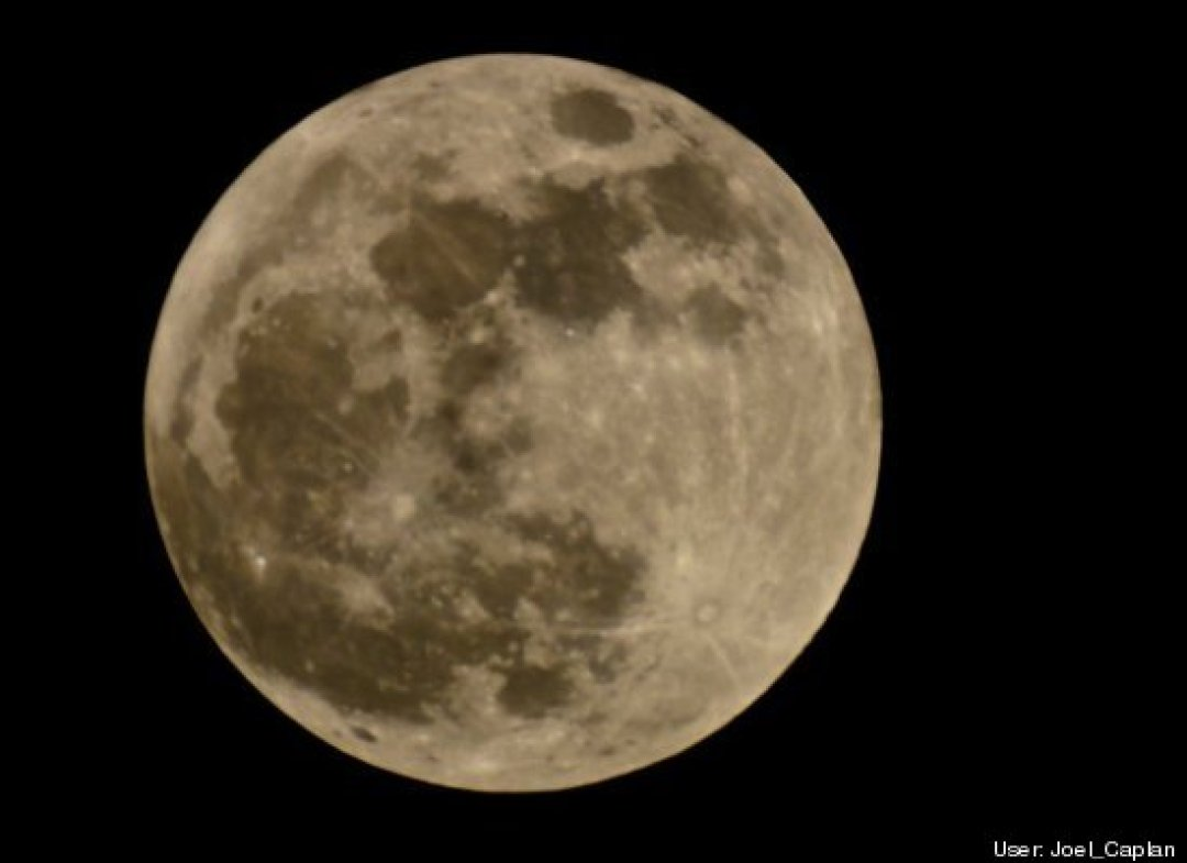 Full Perigee Moon