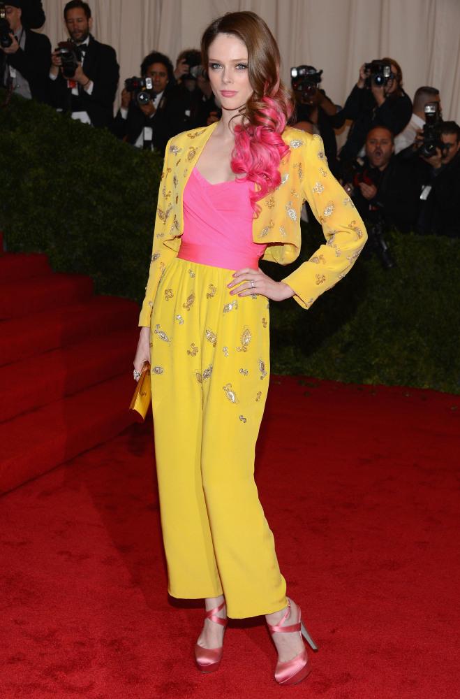 Coco Rocha in vintage Givenchy