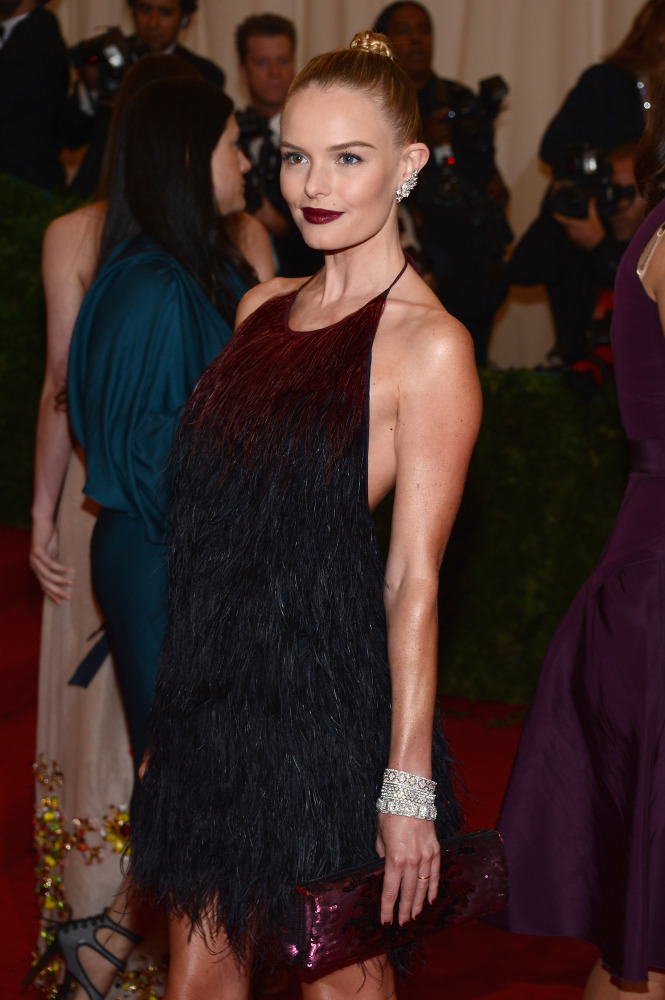Kate Bosworth in Prada and Fred Leighton Jewels