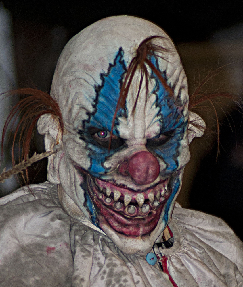 32 scary coulrophobia pictures of terrifying clowns