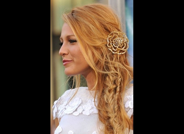 Strawberry Blonde Hair Blake Lively Images & Pictures - Becuo