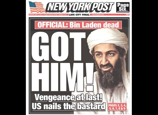 Osama Bin Laden Dead See Newspaper Front Pages Around